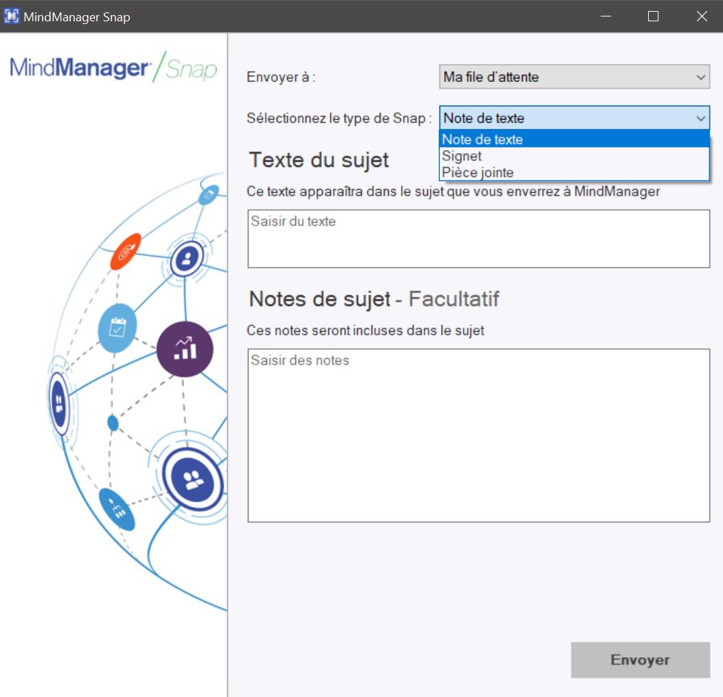 MindManager Snap Desktop